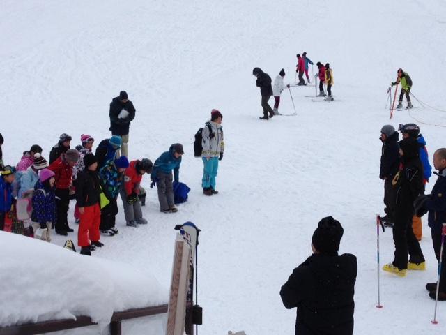 スキーの会